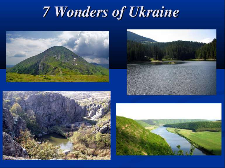 7 Wonders of Ukraine