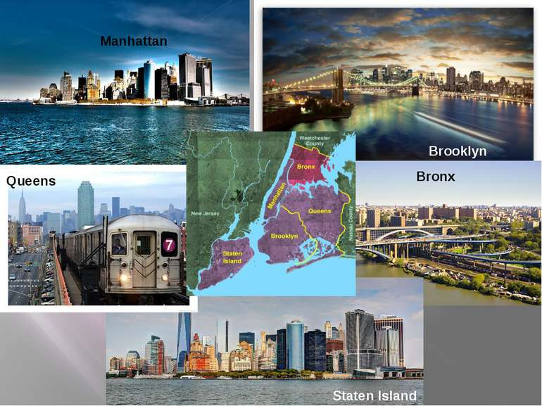 Brooklyn Queens Bronx Staten Island Manhattan