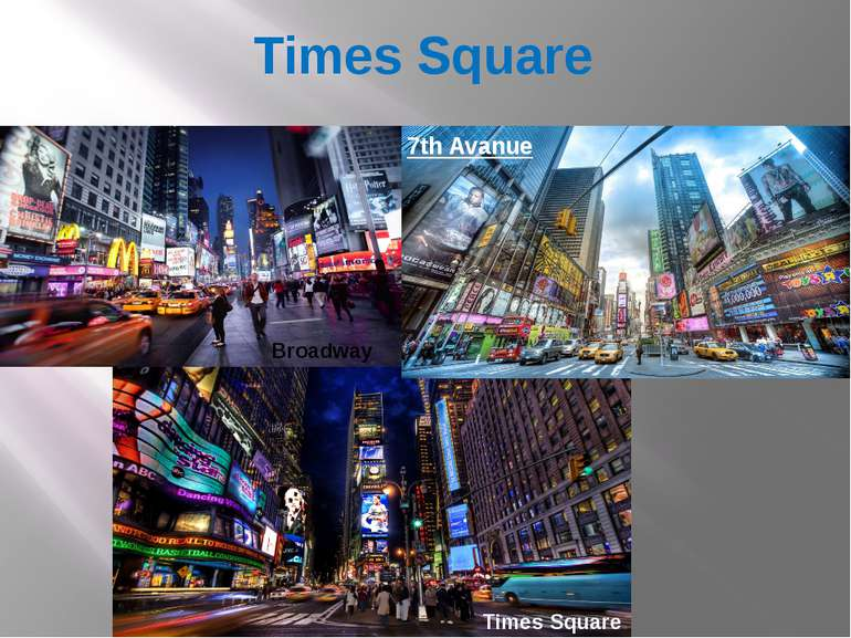 Times Square 7th Avanue Times Square Broadway