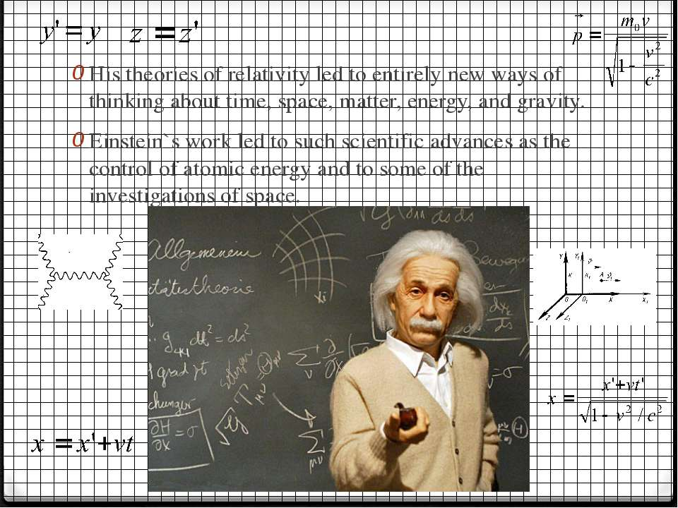 His theories of relativity led to entirely new ways of thinking about time, s...