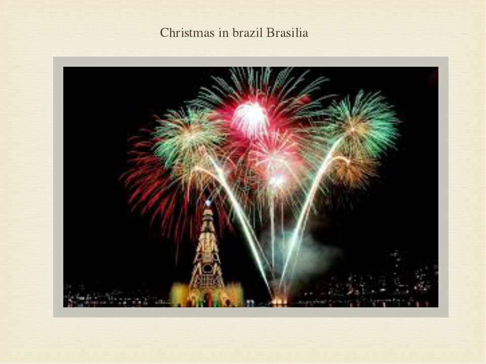 Christmas in brazil Brasilia
