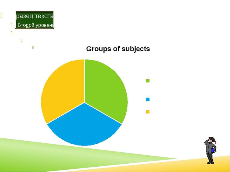Mathematical group of subjects are geometry, algebra, physics, computer scien...