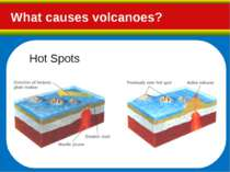 What causes volcanoes? Hot Spots