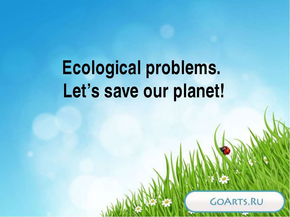 ecological problems 2 10 introduction both developing and developed countries are facing serious environmental problems while some of the problems might be alike due to their global nature (eg global.