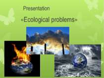 """Ecological problems"""