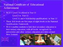 National Certificate of Educational Achievement NCEA Level 1 is offered in Ye...