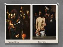 Taking of Christ Ecce Homo