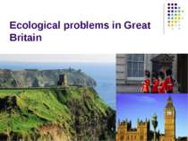 """Ecological problems in Great Britain"""