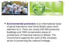 Environmental protection is an international issue of great importance and Gr...