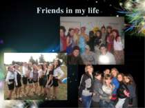 Friends in my life