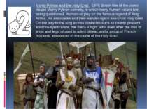 Monty Python and the Holy Grail - 1975 British film of the comic troupe Monty...