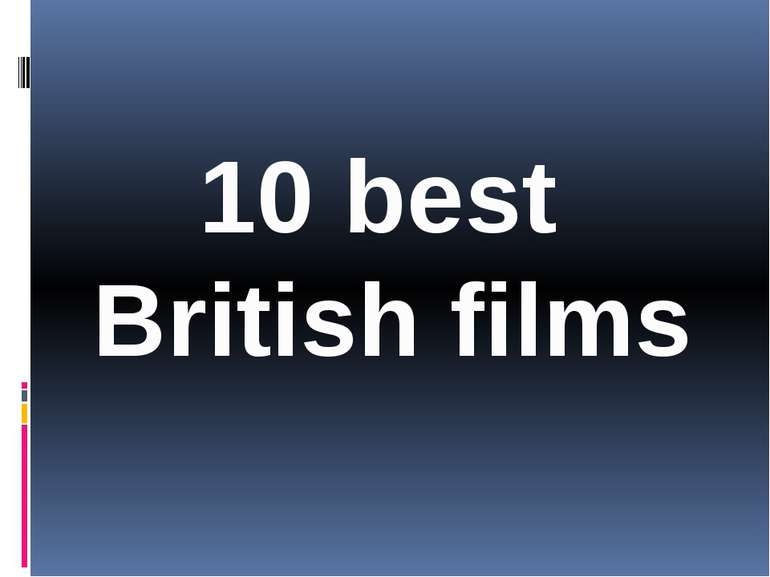 10 best British films