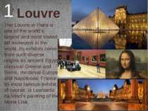 Louvre 1 The Louvre in Paris is one of the world's largest and most visited a...