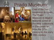 Prado Museum One of the top museums in Spain, The Prado Museum in Madrid feat...