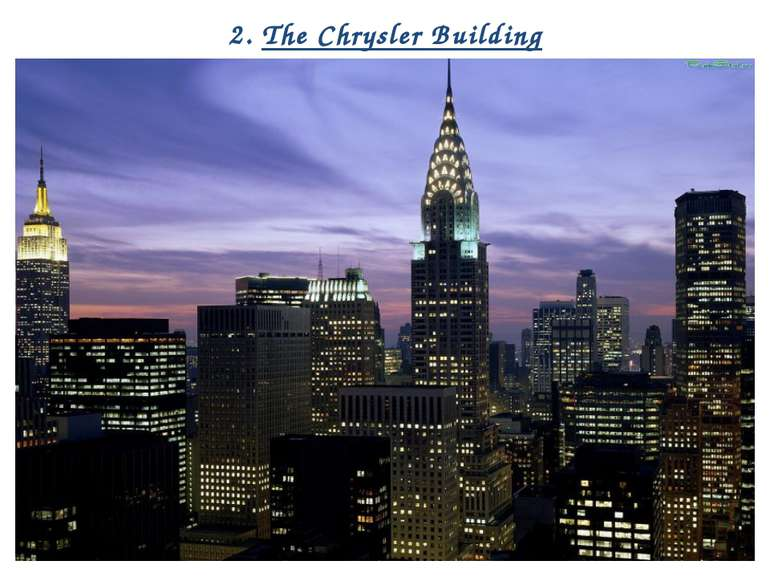 2. The Chrysler Building