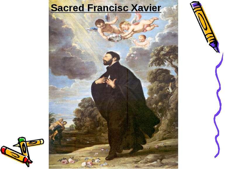 Sacred Francisc Xavier