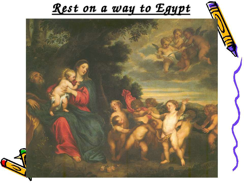 Rest on a way to Egypt