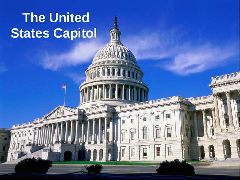 TheUnited States Capitol