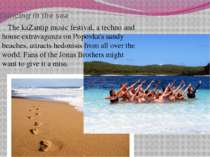 Dancing in the sea The kaZantip music festival, a techno and house extravagan...