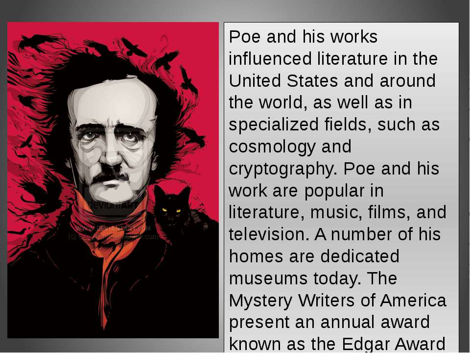 edgar allan poe and the american mind When edgar allan poe died in october 1849, the editor and poet rufus griswold wrote a harsh obituary that helped to define poe's legacy as a man with a mind as disturbed as his characters.
