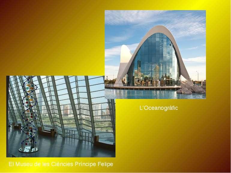 L'Oceanogràfic El Museu de les Ciències Príncipe Felipe