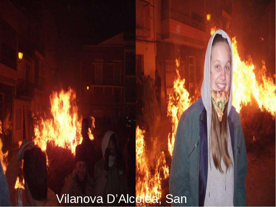 Vilanova D'Alcolea, San Antoni
