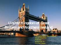 United Kingdom of Great Britain and Northern Ireland, The presentation was pr...