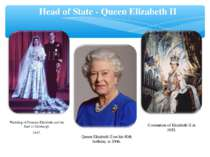 Coronation of Elizabeth II in 1953. Head of State - Queen Elizabeth II Queen ...