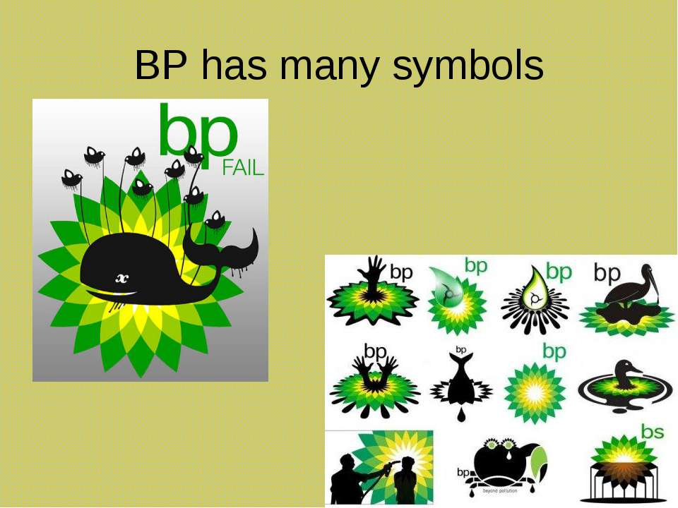 BP has many symbols