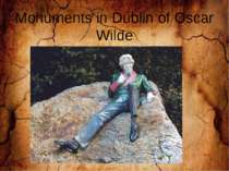 Monuments in Dublin of Oscar Wilde