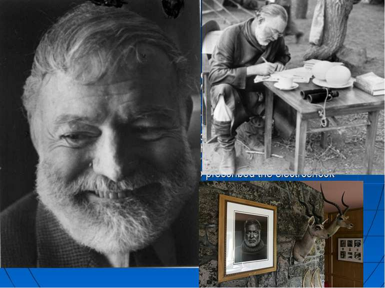 Suicide Hemingway attempted suicide in the spring of 1961, and received ECT t...