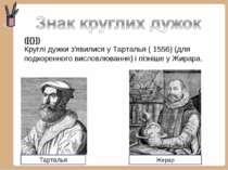 ([{}]) Круглідужкиз'явилися уТарталья(1556) (для подкоренного висловлюва...