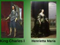 King Charles I Henrietta Maria