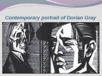 Contemporary portrait of Dorian Gray