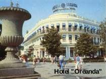 """Hotel """"Oreanda"""""""