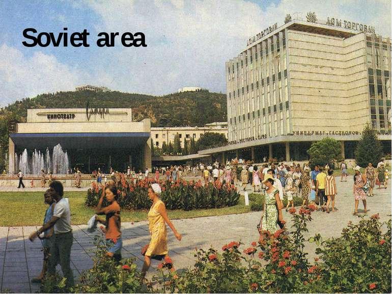 Soviet area