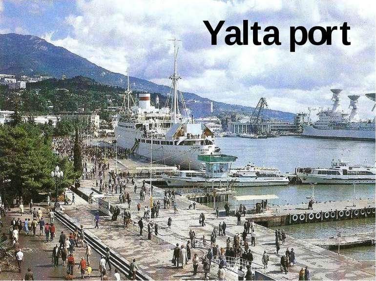 Yalta port