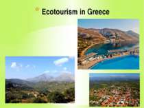 """Ecotourism in Greece"""