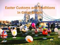 """Easter Customs and Traditions in Great Britain"""