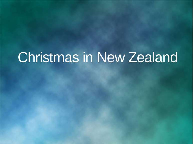 Christmas in New Zealand © Корпорация Майкрософт (Microsoft Corporation), 200...