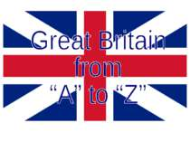 """Great Britain from ""A"" to ""Z"""""