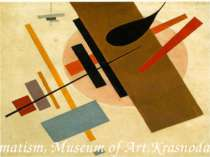 Suprematism, Museum of Art,Krasnodar 1916