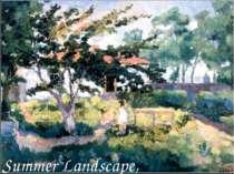 Summer Landscape, 1929