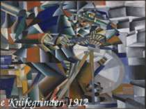 The Knifegrinder, 1912