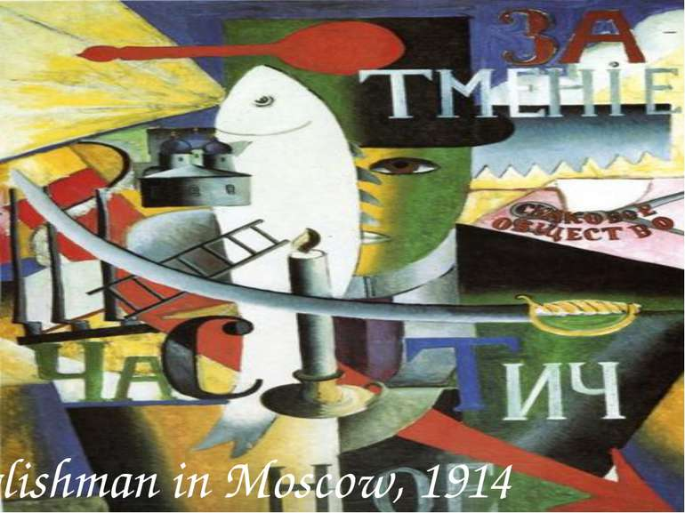 Englishman in Moscow, 1914