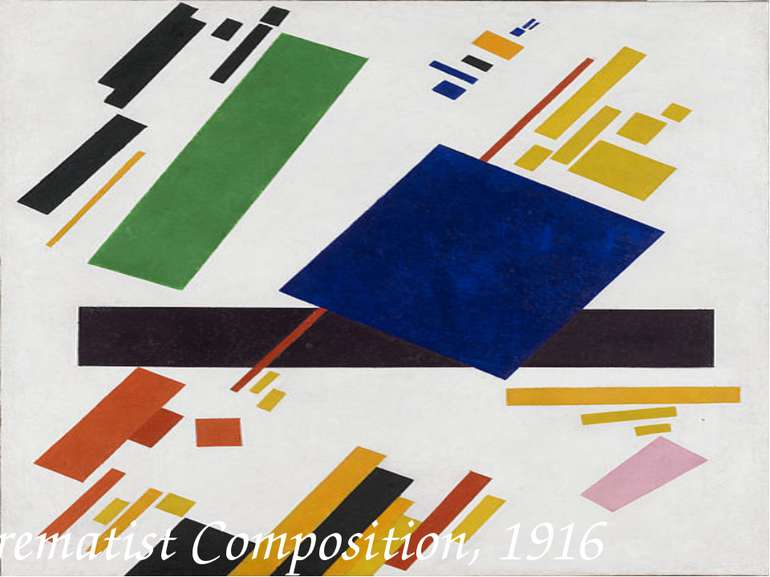 Suprematist Composition, 1916