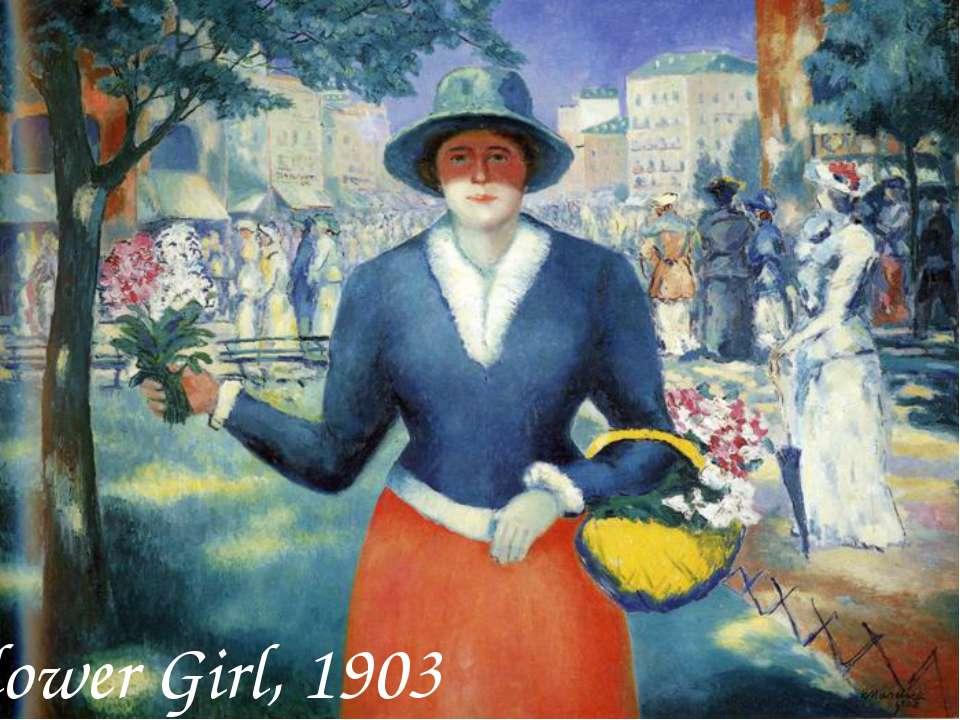 Flower Girl, 1903