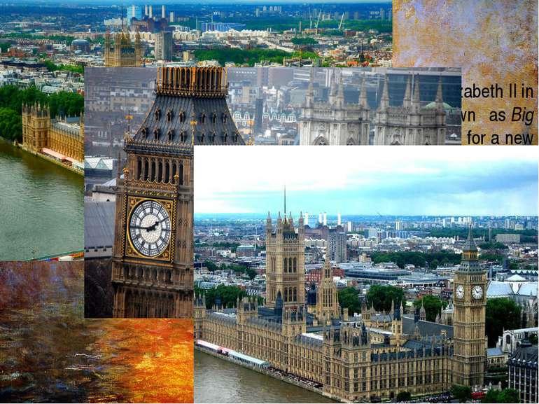 The Elizabeth Tower, named in tribute toQueen Elizabeth IIin herDiamond Ju...