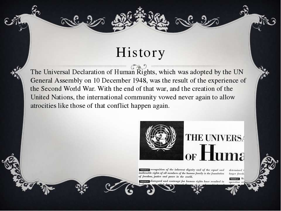 a comparison of the universal declaration of human rights and the ugandan constitution