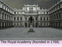 The Royal Academy (founded in 1768)